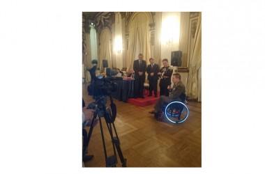 Il Ten. Col. Gianfranco Paglia ha ricevuto il premio internazionale Army Award 2015