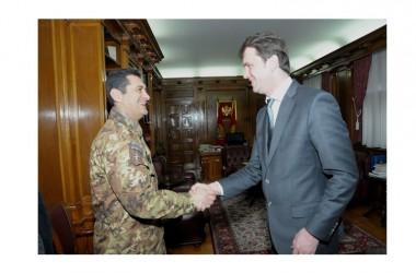 """Il Generale Figliuolo in Montenegro per gli """"High Level Talks"""""""
