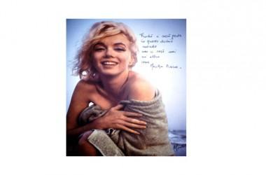 Le mie Marilyn – La personale di Alessandro Giunta al Belvedere di San Leucio