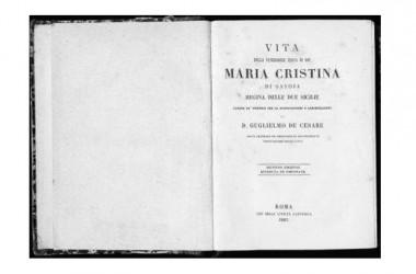 La Sindone e la beata Maria Cristina di Savoia