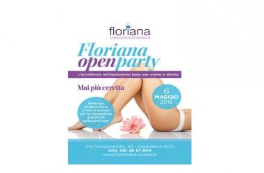 Open Party Floriana Benessere 6 maggio 17:30-20:30