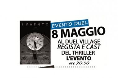 """""""L'Evento"""" in anteprima al Duel Village. In sala il regista Lorenzo D'Amelio e il cast"""