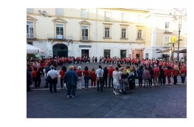Capua flash mob