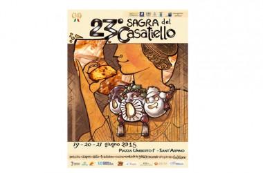 SANT'ARPINO – Ritorna con la XXIII edizione la Sagra del Casatiello