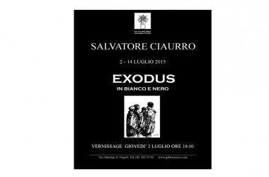 EXODUS in bianco e nero, mostra di Salvatore Ciaurro