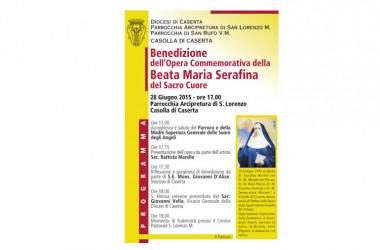 Caserta – Benedizione di un'opera commemorativa della Beata Maria Serafina del Sacro Cuore