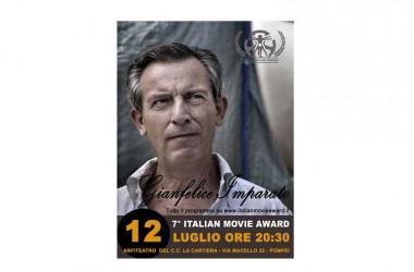 Marco D'Amore e Gianfelice Imparato chiudono l'Italian Movie Award 2015