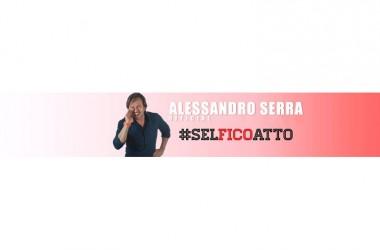 Alessandro Serra ed il suo #SELFICOATTO il 2 Agosto 2015 'all'Ombra del Colosseo' (Roma)
