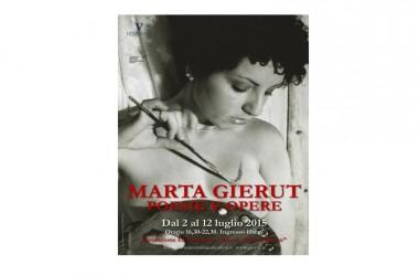 """Mostra d'arte di Marta Gierut (1977-2005).  """"Poesie e opere"""""""