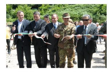 L'opera inaugurata dal Comandante di KFOR e dall'Ambasciatore