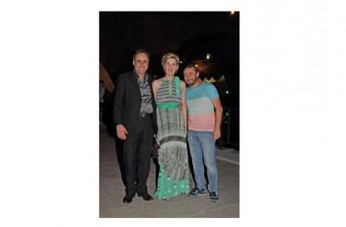 Antonello De Pierro ospite all'Isola del Cinema per Insegno e Stajano