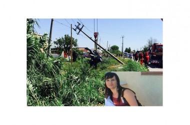 Auto contro il traliccio dell'alta tensione: muore giovane mamma