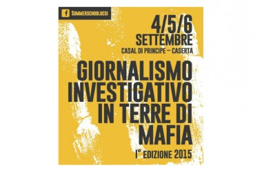 """""""Giornalismo investigativo in Terre di Mafia"""""""