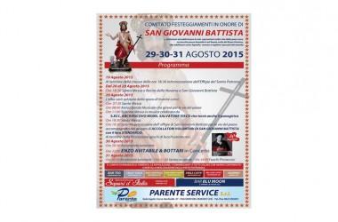 Grazzanise: Festività in onore di San Giovanni Battista