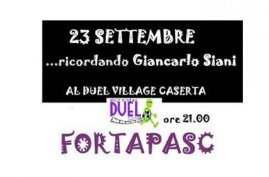 Il Duel Village ricorda Giancarlo Siani  con la proiezione di Fortapàsc e un dibattito