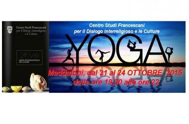 Maddaloni, Laboratorio Yoga al Centro Studi Francescani dal 21 al 25 ottobre, iscrizioni aperte