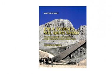 """Fresco di stampa il volume """"L'ala tedesca sul Gran Sasso"""" di Antonio Muzi"""