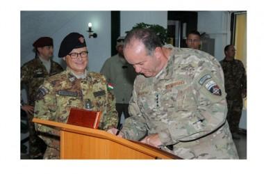 KFOR: Il Generale Breedlove incontra i militari di KFOR