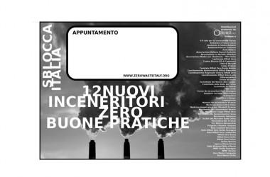 Zero waste Italy invita a mobilitarsi contro DL applicativo dell'art. 35 dello Sblocca Italia