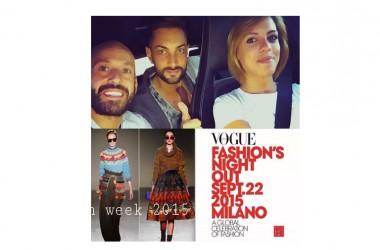 Seby Montella a Milano per la Fashion week 2015