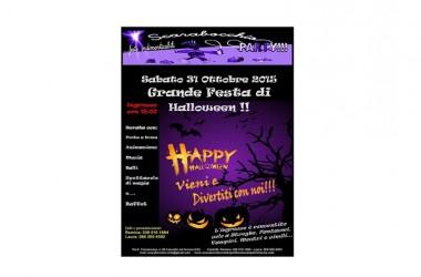 Scarabocchio organizza una Grande Festa di Halloween per sabato 31 ottobre 015