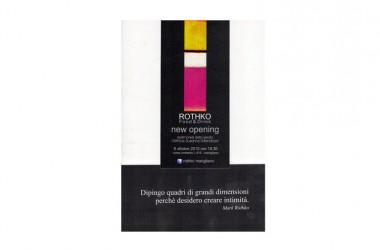 """Apre a Marigliano """"Rothko"""" Il ristorante che si ispira al noto artista"""