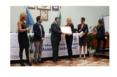 Alla V edizione del Premio Mimmo Castellano, è stato premiato per la medicina il prof.Giulio Tarro