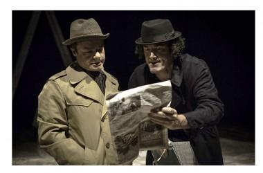 """Mercoledì 2 dicembre: il nuovo spettacolo di Lino Musella e Paolo Mazzarelli, """"Strategie fatali"""", in scena al Teatro Nuovo di Napoli"""