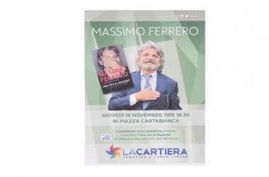 INVITO incontro con Massimo Ferrero