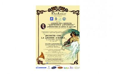 """Save the date: sabato 28 novembre ore 11 conferenza stampa presentazione """"Incontri con la Grande Musica"""" Castellammare di Stabia – NA"""