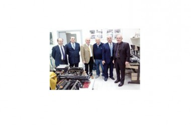 Il sottosegretario alla Difesa Gioacchino Alfano visita il Museo Olivetti del polo culturale della provincia di Caserta