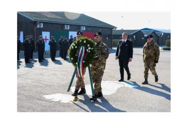 Il contingente italiano in Kosovo celebra il 4 Novembre