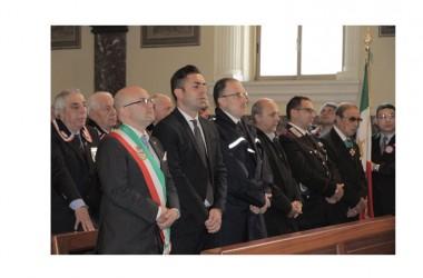Pompei: S. Messa in onore dei Caduti, festa dell'Unità nazionale e delle Forze armate.