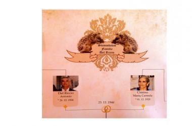 Molise/Campania 69 anni di matrimonio, ecco ilsegreto dei coniugi Del Riccio