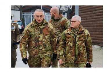 KOSOVO: Il Capo di Stato Maggiore della Difesa italiano in visita al contingente nazionale