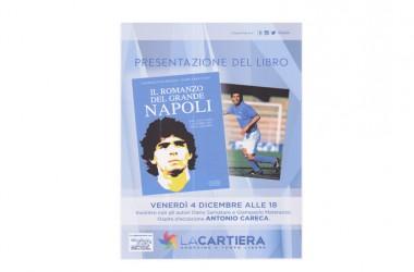"""Careca a Pompei per il libro """"Il Romanzo del Grande Napoli"""""""
