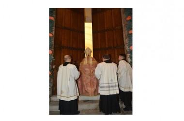 Giubileo della Miserircordia, apertura della Porta Santa, Basilica Cattedrale – Capua