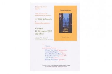 Presentazione libro di Giuseppe Santabarbara