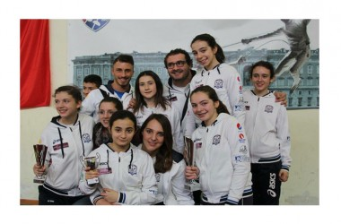 Il Club Scherma San Nicola si conferma come miglior società schermistica della provincia di Caserta nelle categorie giovanili e non solo