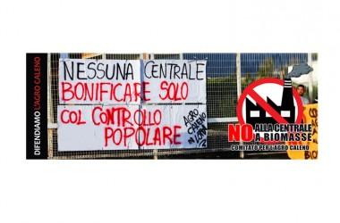 CALVI RISORTA – Non si ferma la lotta del Comitato contro la Centrale a Biomasse nell'Agro Caleno