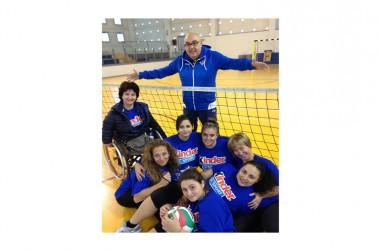 Sitting Volley, collegiale dell'Italia femminile a Nola