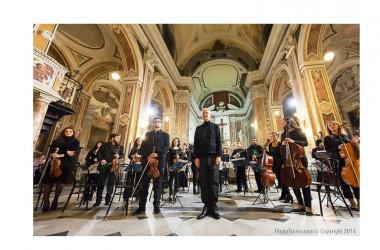 """L'orchestra Giovanile Napolinova  il 21 febbraio  alle 19.00 ha debuttato a Caserta al teatro """"don Bosco"""""""