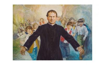 Don Bosco 'illustrato' da Don Franco Galeone, salesiano, nel giorno della festa