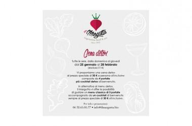 Il Margutta – A Roma la cena diventa detox, light anche per il portafogli: 4 portate a 30 euro