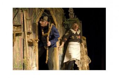 """Al Teatro Ricciardi di Capua, la rassegna """"A teatro con mamma e papà"""": domenica 21 febbraio ore 11 """"Gervaso e Carlotta (la fiaba dei tre desideri ridicoli)"""