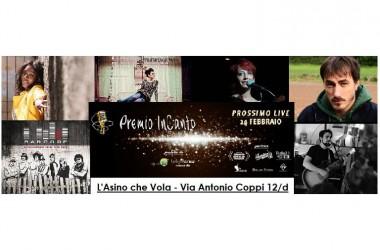 L'asino che Vola: domani Premio InCanto, il grande contest di canzone d'autore della Capitale