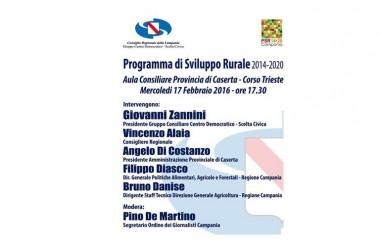 Programma di Sviluppo Rurale Campania 2014/20