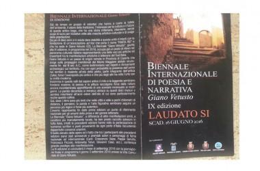 Giano Vetusto. IX edizione della Biennale Internazionale di Poesia e Narrativa