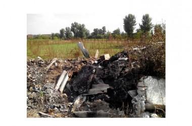 Gricignano di Aversa Smaltimento illecito e combustione di rifiuti speciali pericolosi