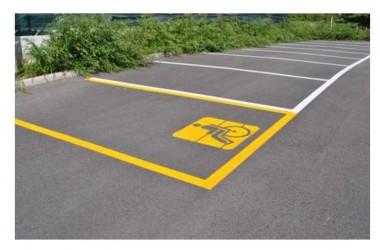 Caserta: lo strano caso della signora di via Sant'Antida che beneficia del parcheggio sotto casa riservato agli invalidi
